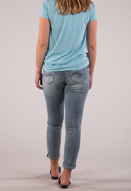 Visit with family and friend. - Review of Lola Jeans