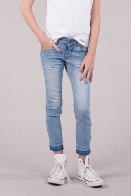 Skinny fit Jeans Abbey Bleach used
