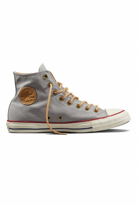 Sneakers All stars hoog model Licht grijs