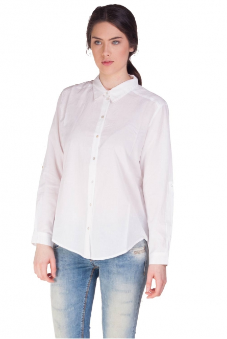 Only Blouse Veronica voor dames Wit