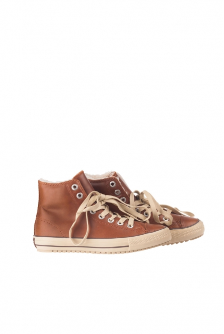 Sneakers All stars hoog model Cognac