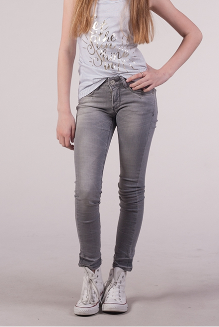 Jeans Mona Super Skinny Fit Grey denim