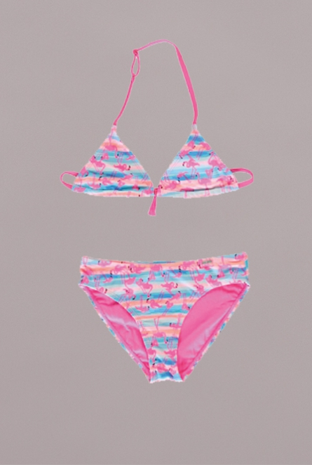 Flamingo triangle Bikini Sita Roze