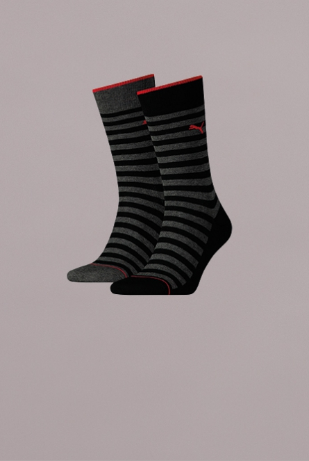 MEN CLASSIC SOCK 2P 200-black