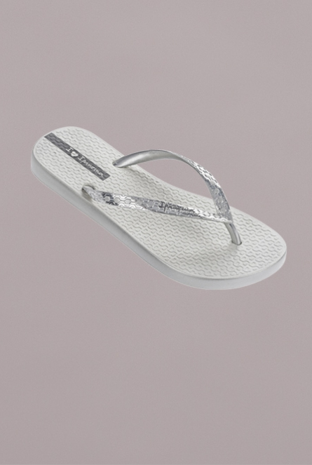 Glam slippers Zilver