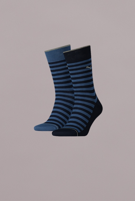 MEN CLASSIC SOCK 2P 460-denim blue