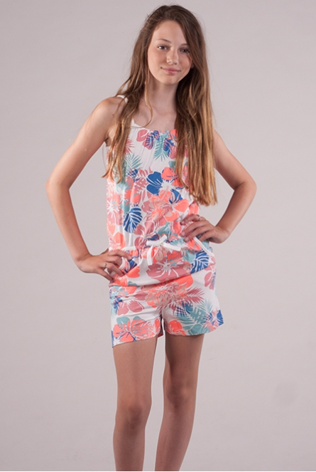 Tropical jumpsuit Viggajo Wit