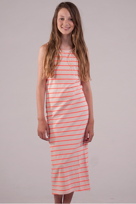 Long dress Kino Licht roze