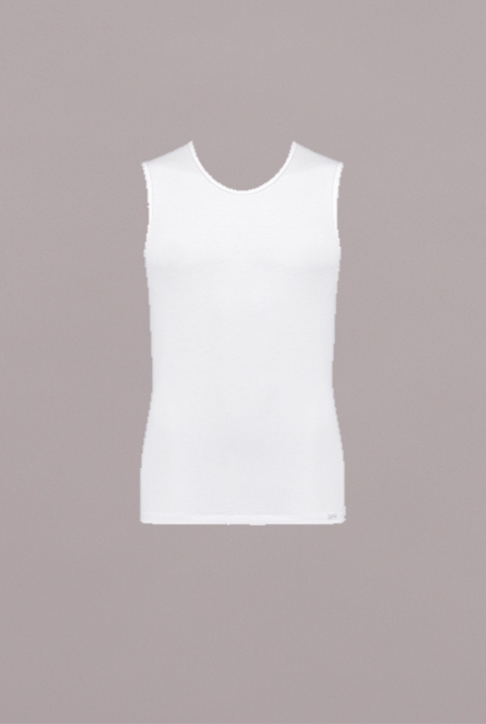 Basic Soft SH02 Tanktop Wit