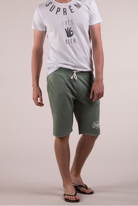sweat short Holting Groen