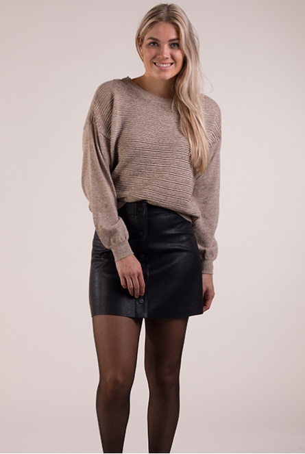 Sweater Club Beige
