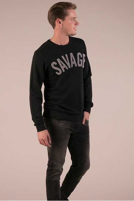Sweater Savage Zwart