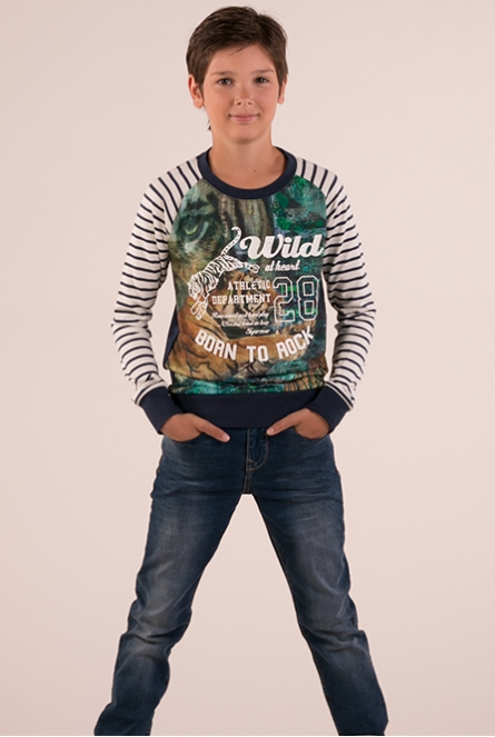 Jungle shirt Kild Donker blauw