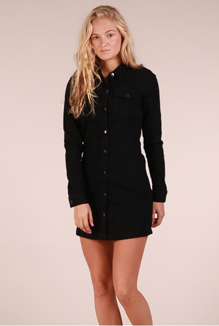 Denim Jurk Juicy Black denim