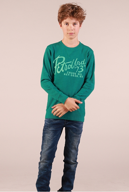 Sweater Zeegroen