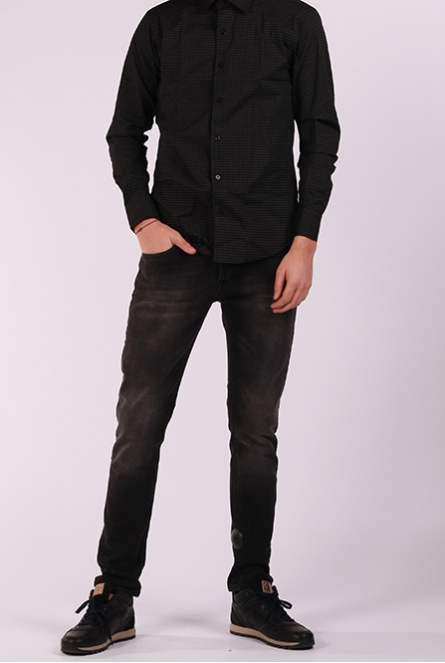 Jeans Bari slim-fit Black denim