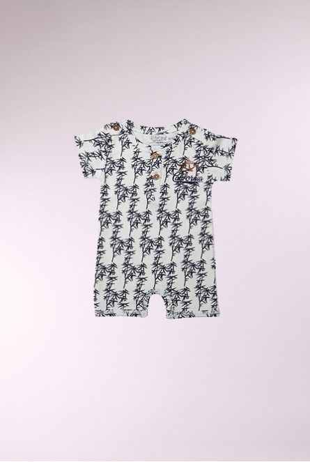 Pakje met all-over print Wit