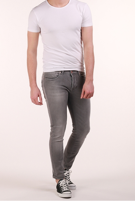 Jeans Bari slim-fit Grey denim