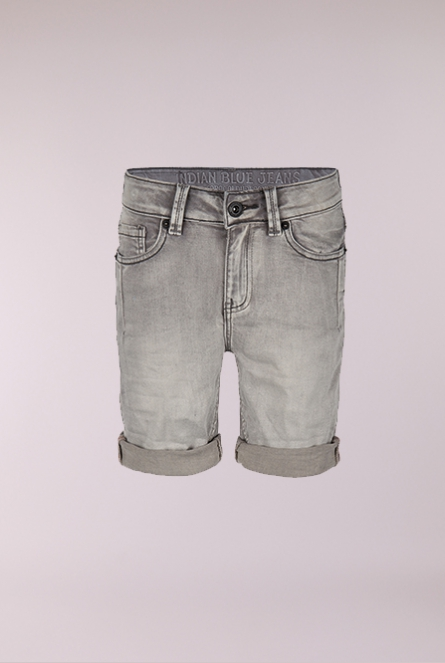 Denim Short Grey denim