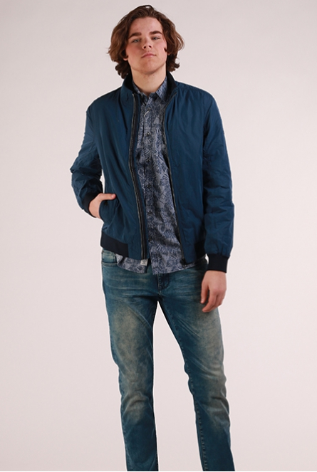 Zomerjas dark denim blue