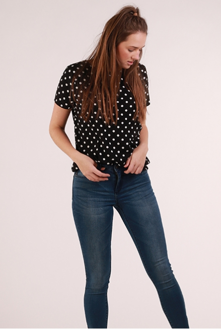 Shirt Ann Black/ANN DOT