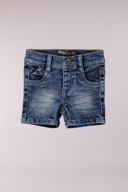 Denim Short Stone used