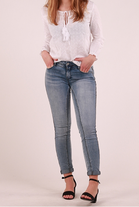 Skinny Jeans Janna Bleach used