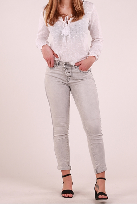 Skinny Jeans Lola Grey denim