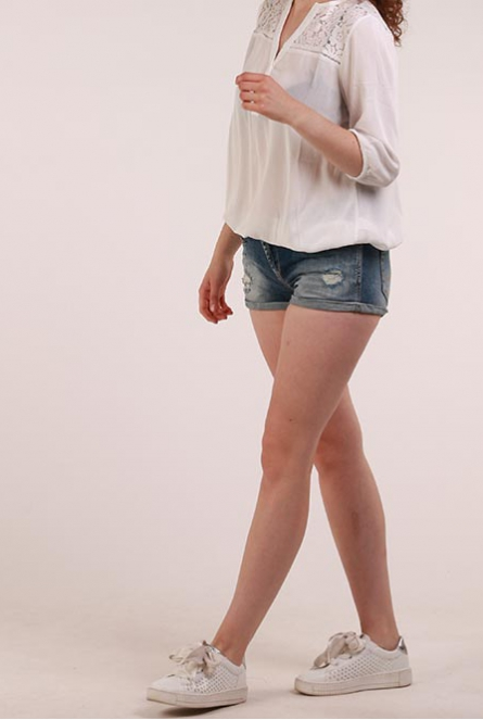 Denim Short Judie Stone used