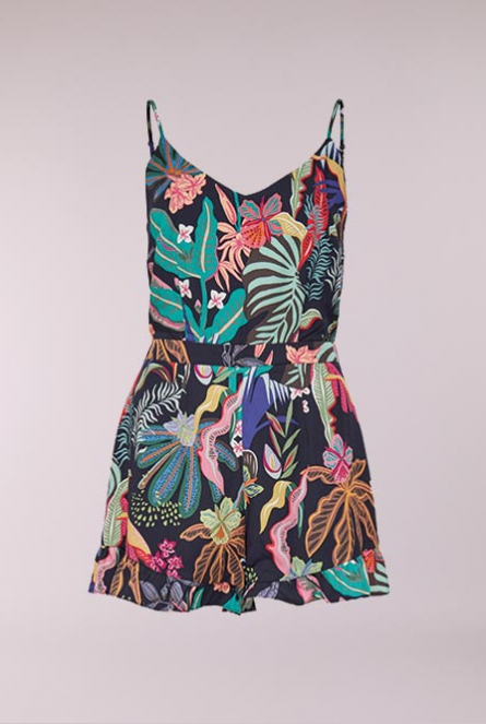 Playsuit Melbourne Night Sky/TROPICAL BEACH COMB 2