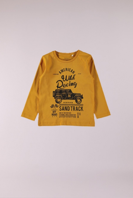 Shirtje Lau Sunflower