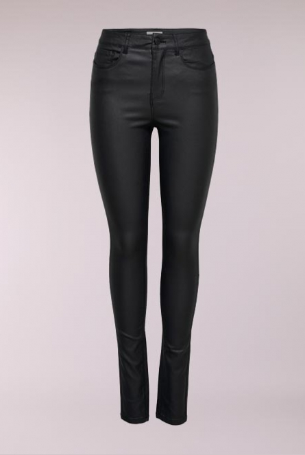 Coated Jeans Anne Black