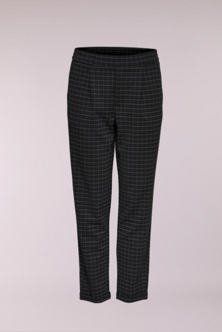Geruite Broek Checky Black/RED AND GREY