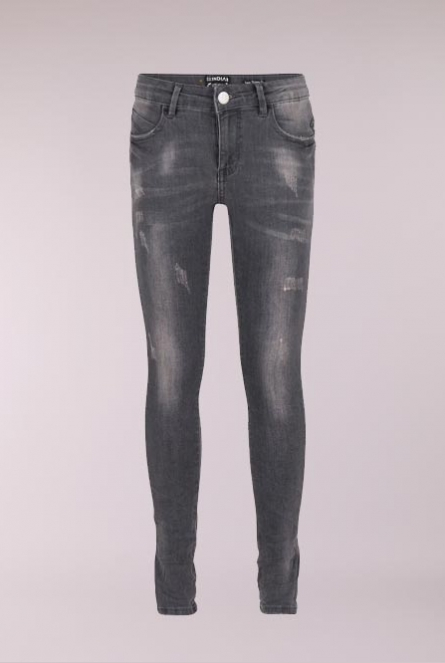 Jeans Skinny fit Leopard  Grey denim