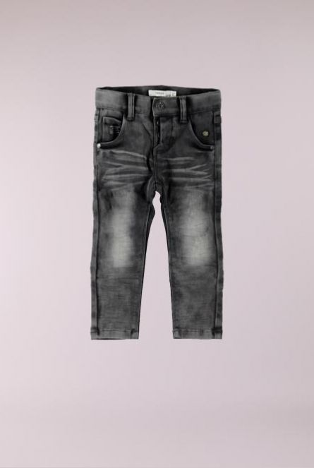 Jeans Silas Slim fit Medium Grey Denim
