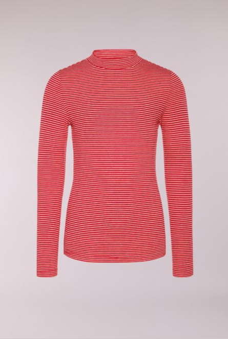 Gestreept Shirt Stripy Jester Red