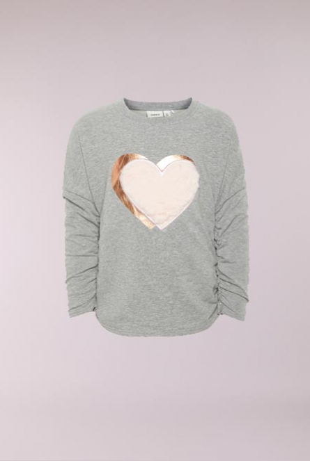 Sweater Olgine Grey Melange