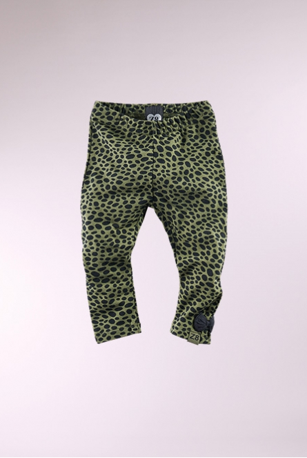 Leopard Legging Jaelin Army
