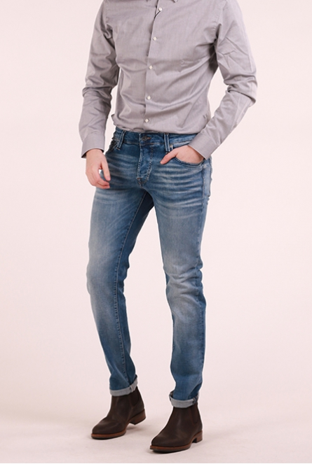 Jeans Glenn Slim fit Blue Denim