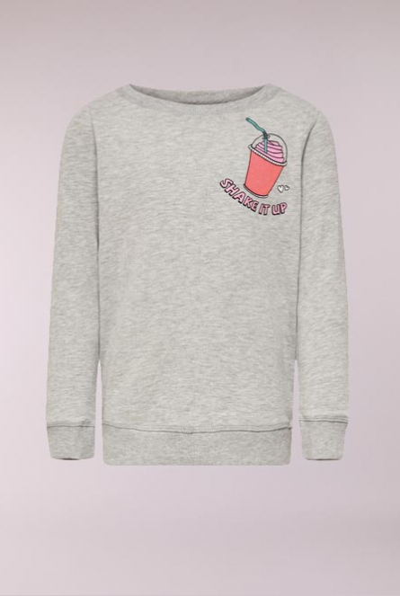 Sweater Sound Light Grey Melange