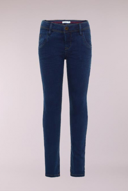 Jeans Silas Slim-fit Dark Blue Denim