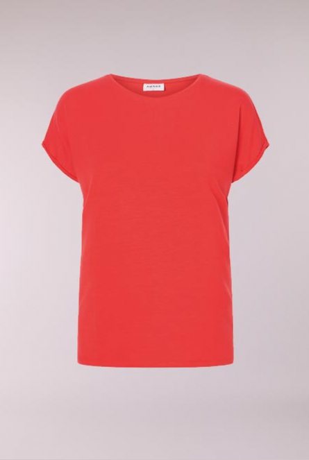 Basic Shirt Ava Chinese Red