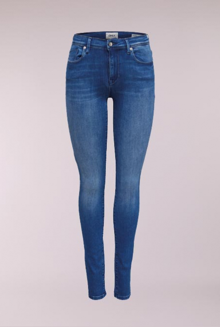 Jeans Shape Skinny- fit Medium Blue Denim