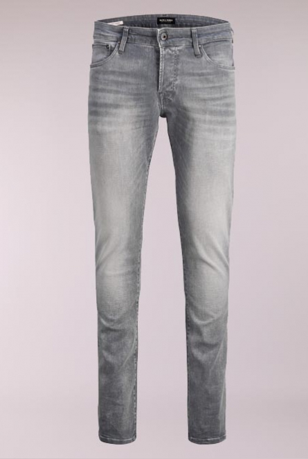 Jeans Glenn Slim-fit Grey Denim