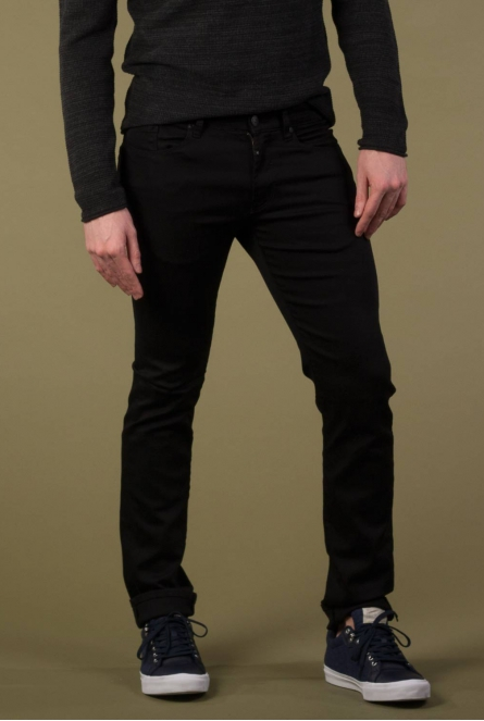 Jeans Ray slim basic Black denim