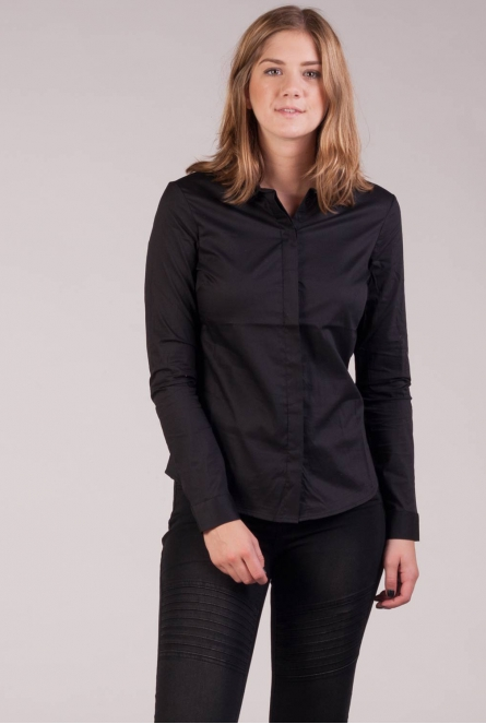 Basic Blouse Lady Zwart
