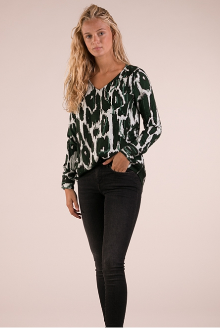 Blouse Animales Groen