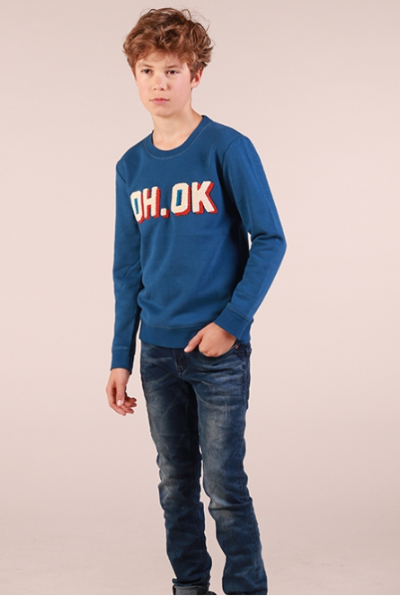 Sweater Boltan Blauw