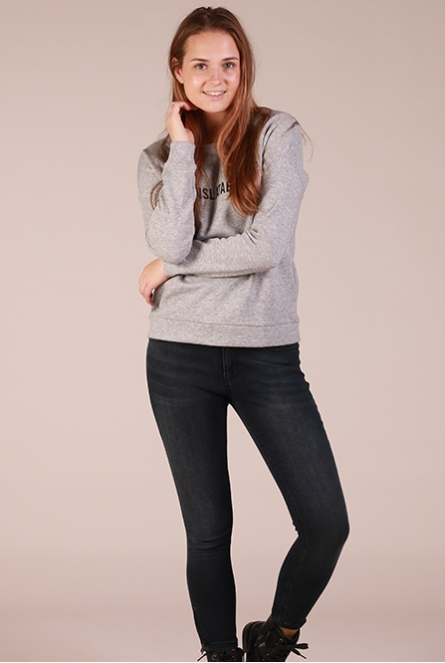 Pure chic sweater Tori Grijs