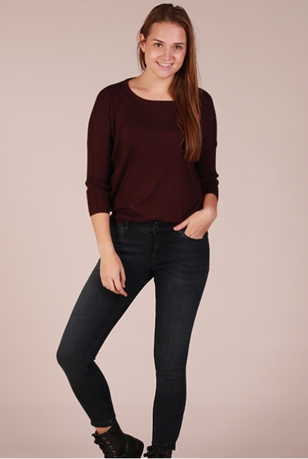 Basic Shirt  Aubergine